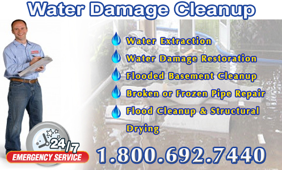Water Damage Cleanup Santa Ana, California